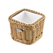 Krepšelis su porcelianiniu įdėklu 95x95 mm