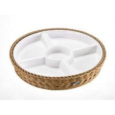 Krepšelis su porcelianiniu įdėklu 285 mm