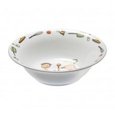 Lėkštė sriubai iš porceliano